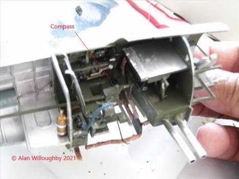 488 Sqn Buffalo build 6aa Heat Tubing & Compass .jpg by LDSModeller