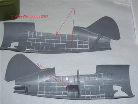 48 Sqn Buffalo build 1 Addition of ribbing etc to relief features and luggage compartment.jpg by LDSModeller
