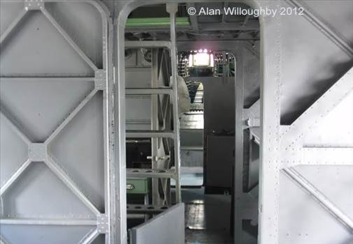 View from ward room to stern turret.jpg -