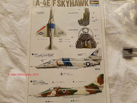 RNZAF A4K Skyhawk Build 1H.jpg by LDSModeller