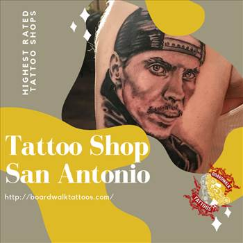 Tattoo Shop San Antonio - BoardWalk Tattoo.png by boardwalktattoo