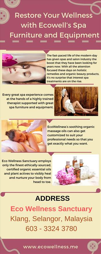 Restore Your Wellness with Ecowell's Spa Furniture and Equipment.jpg by ecowellness15