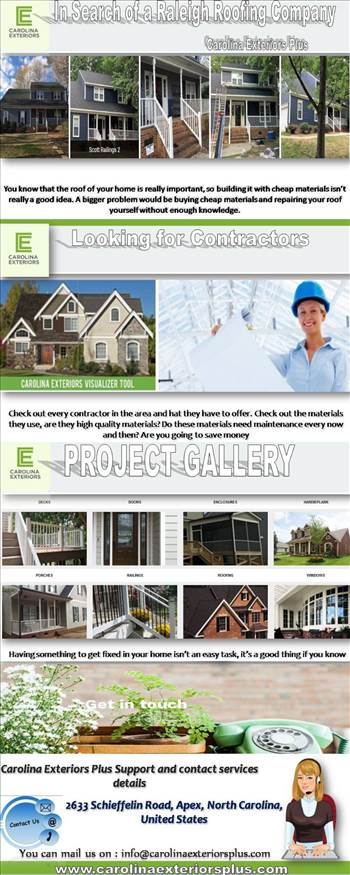 In Search of a Raleigh Roofing Company by carolinaexteriorsplus