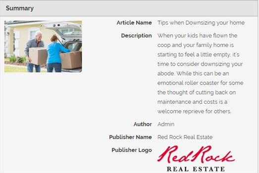 Tips when Downsizing your home.jpg by RedRockRealEstate