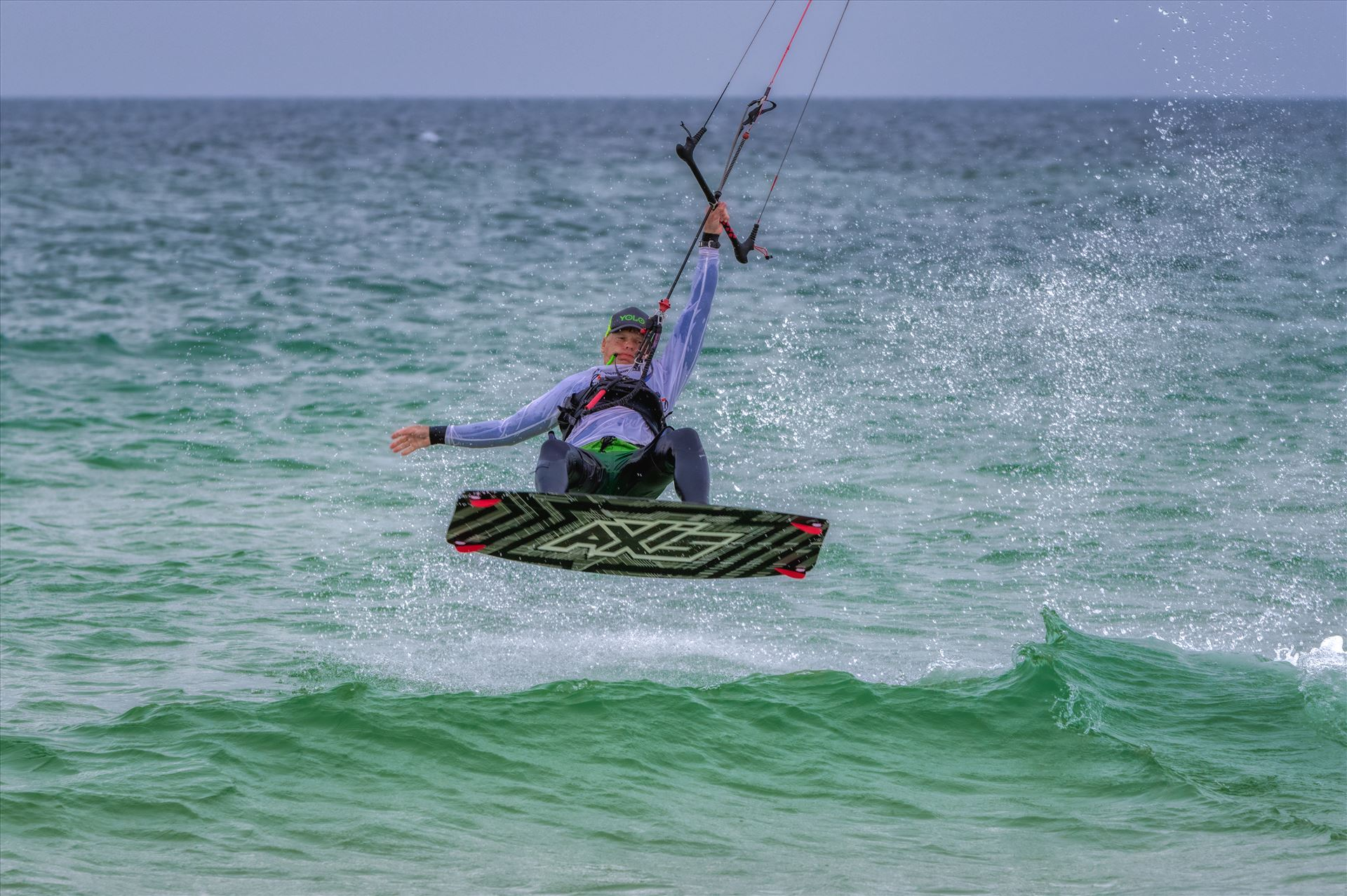 emerald Coast Kiteboarding Kiteboarding at St. Andrews State Park, Panama City, Florida by Terry Kelly Photography