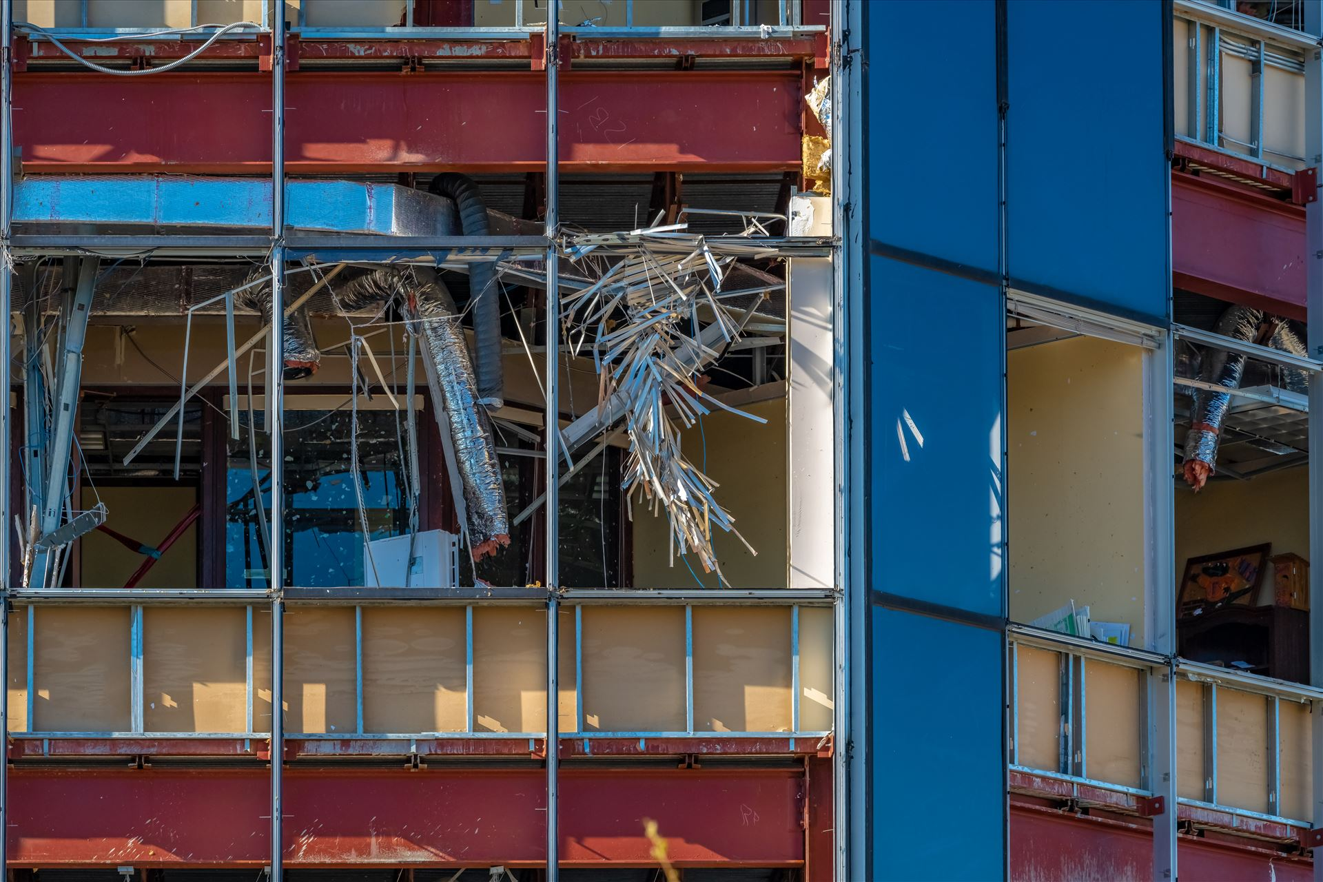 hurricane Michael Hurricane Michael destroys First Federal Bank of Florida in Panama City, Florida, located on 23rd street. by Terry Kelly Photography