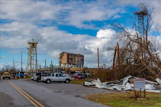 Hurricane Michael - Tyndall AFB, the building where my brother worked.
