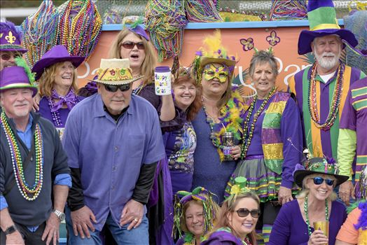 Saturday Feb 3, 2018 The St. Andrews Mardi Gras, the official Mardi Gras parade and festival of Panama City, Florida.