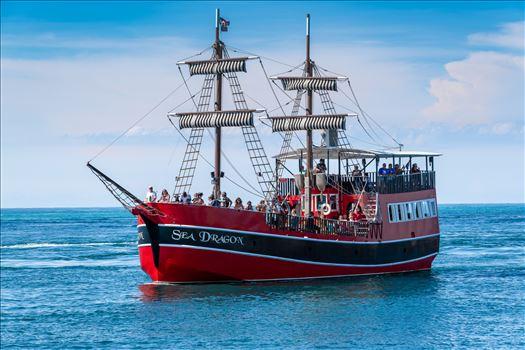 sea dragon-8500323.jpg - The Sea Dragon, pirate ship entering the pass at Panama City, Florida