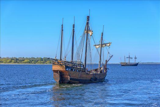 nina and pinta leaving the panama city marina 8108575.jpg by Terry Kelly Photography