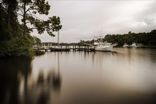 long exposure of boats in the bay 8500344.jpg by Terry Kelly Photography