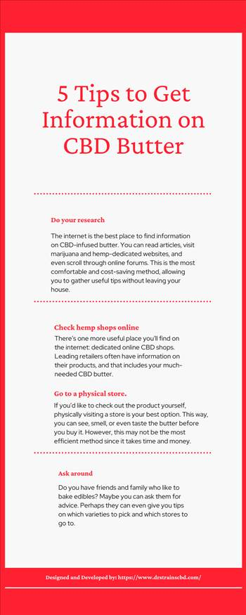 5 Tips to Get Information on CBD Butter.png by drstrainscbd