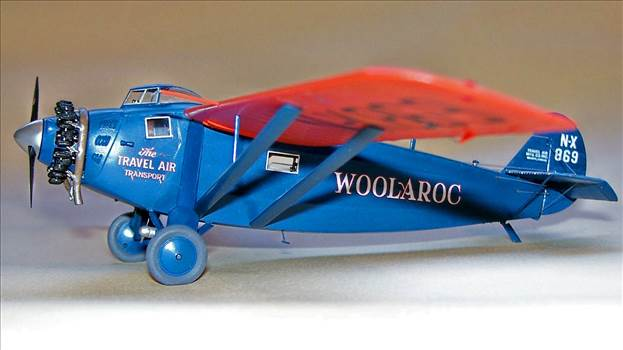 Travel Air 5000 Woolaroc model.jpg by Rogerhold