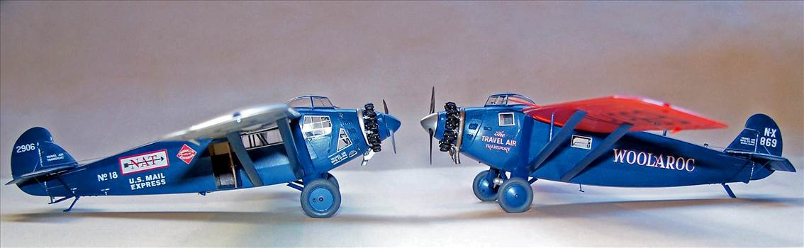 Travel Air 5000 model comparison.jpg by Rogerhold