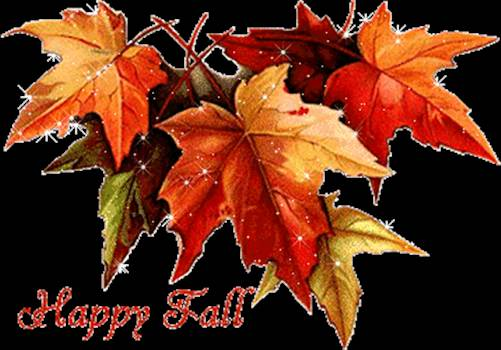 HappyFallLeaves.gif by Froggie