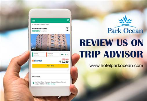 Get review of Hotel's hospitality by Trip Advisor  by HotelParkOcean