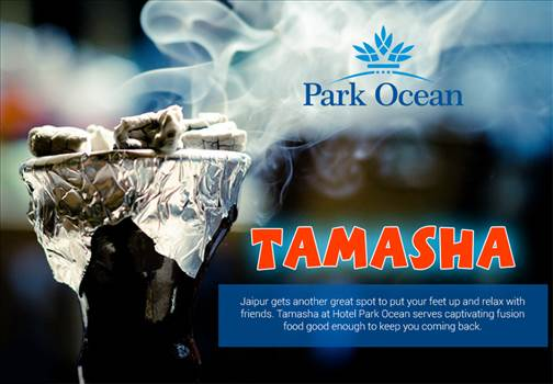 Gear up your Weekend with Best Food and Hookah in Jaipur-Hotel Park Ocean.png by HotelParkOcean