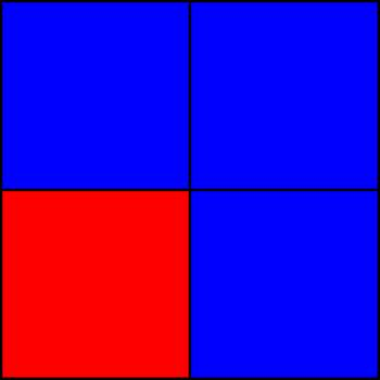 75% blue and 25% red - Part II.png by shwapneel1999