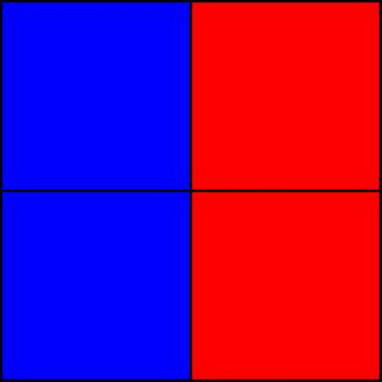50% blue and 50% red - Part IV.png by shwapneel1999