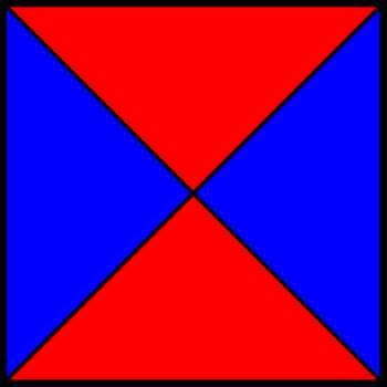 50% blue and 50% red square II.png by shwapneel1999