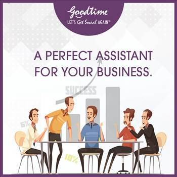 A Perfect Assistant For Your Business by GoodTime