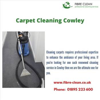 Carpet cleaning Cowley by Fibreclean