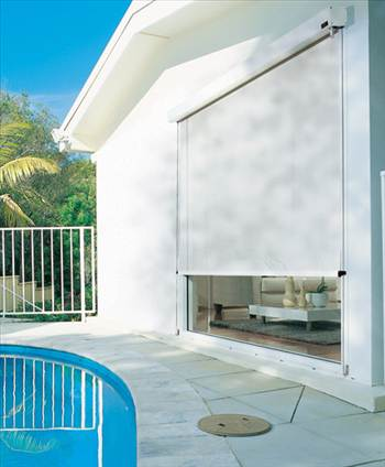 Wire Guide Awnings by apolloblinds