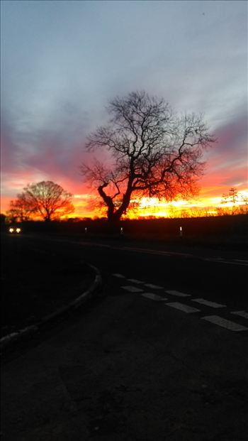 Sunrise in shincliffe by Mr