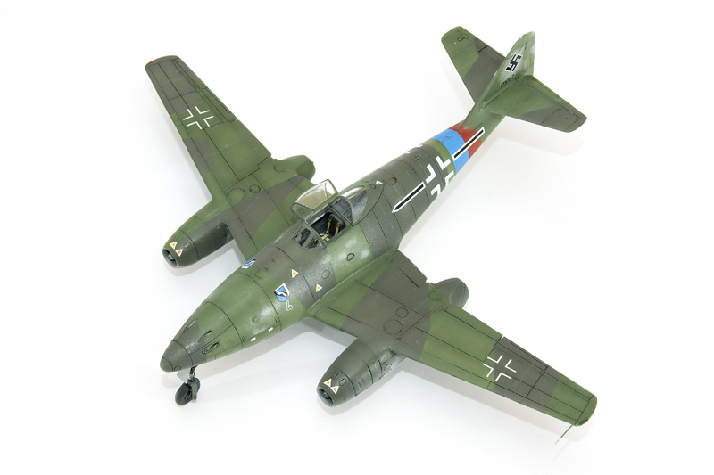 1/72 Airfix Me-262 A1a - Ready for Inspection - Aircraft