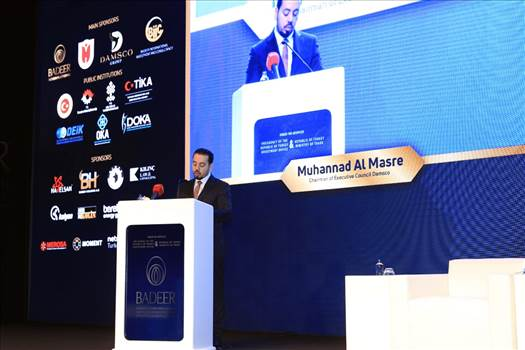 Mohannad Al Masre مهند المصري said Damsco Group is a Bridge of Investments in the Middle East by mohannadalmasre