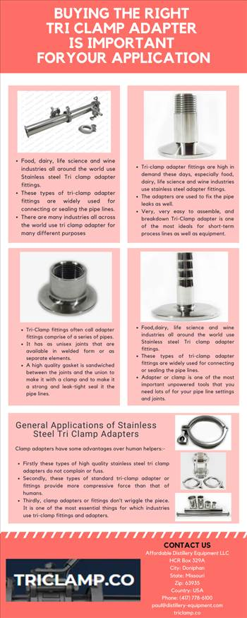 Buying the Right Tri Clamp Adapter Is Important for Your Application.png by Triclamp