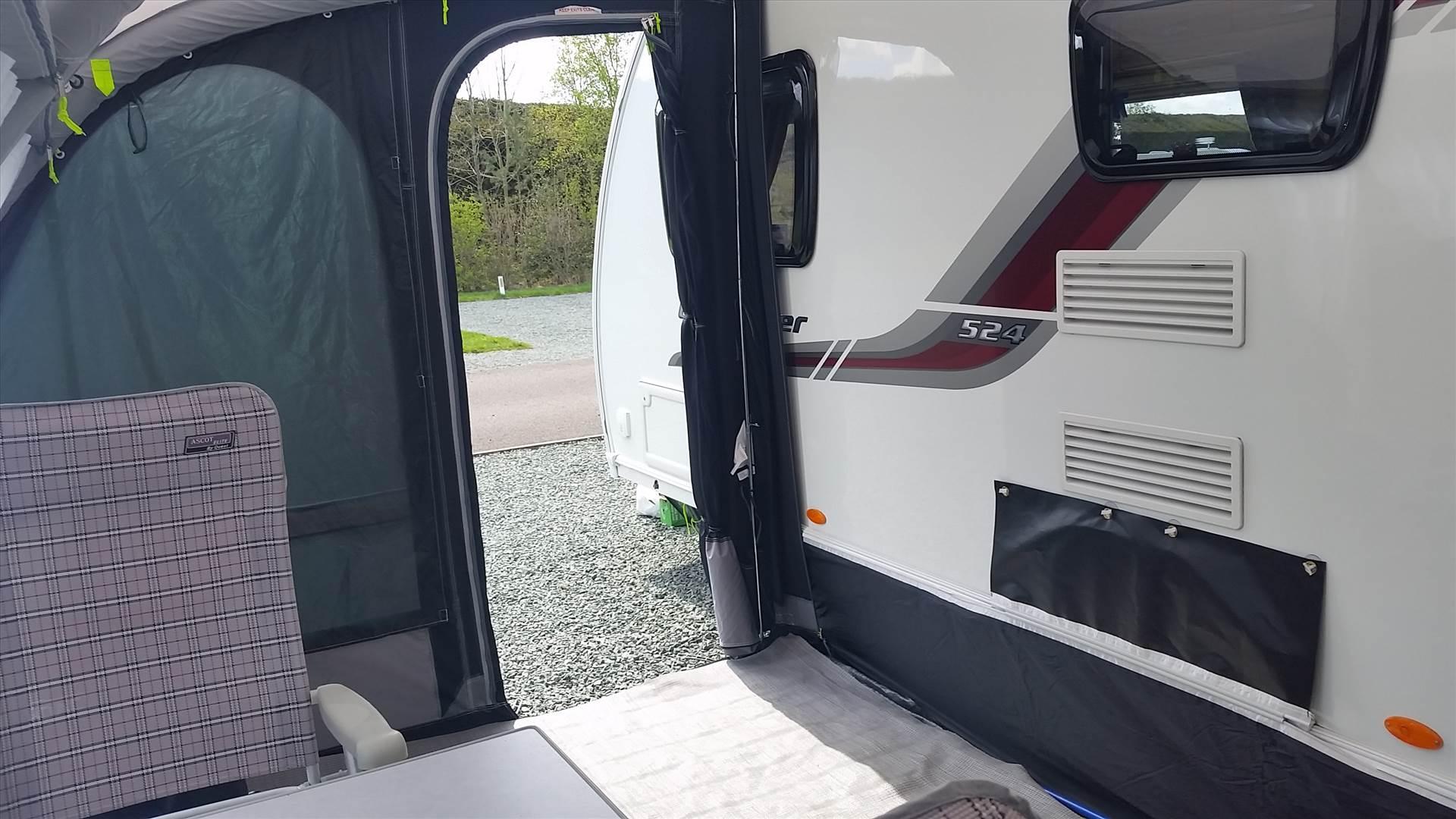 practical caravan wheel arch draught excluder 1 5
