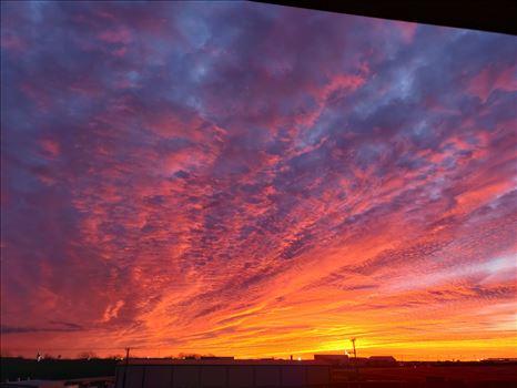 Oklahoma Watercolor Sunset.jpg by 405 Exposure