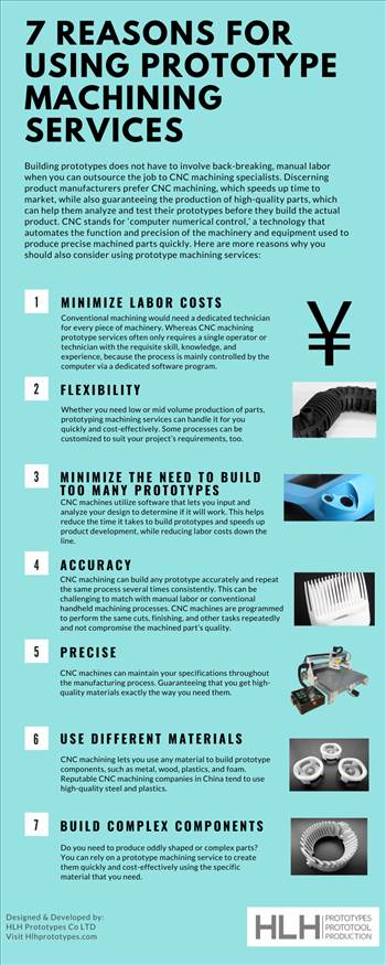 7 Reasons for Using Prototype Machining Services by prototypeshlh
