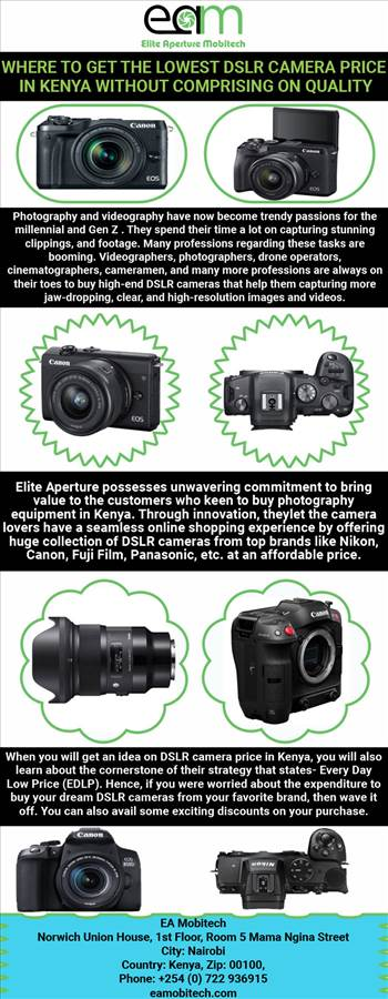 Where to get the lowest DSLR Camera price in Kenya without comprising on quality.jpg by eamobitech