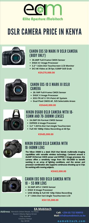 DSLR Camera Price in Kenya.png by eamobitech