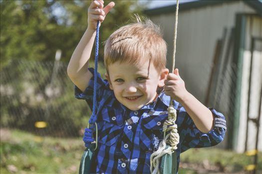 Having a swing -