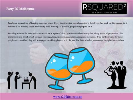 Party DJ Melbourne by RSQUARED2