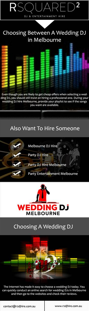 Choosing Between A Wedding DJ in Melbourne by RSQUARED2