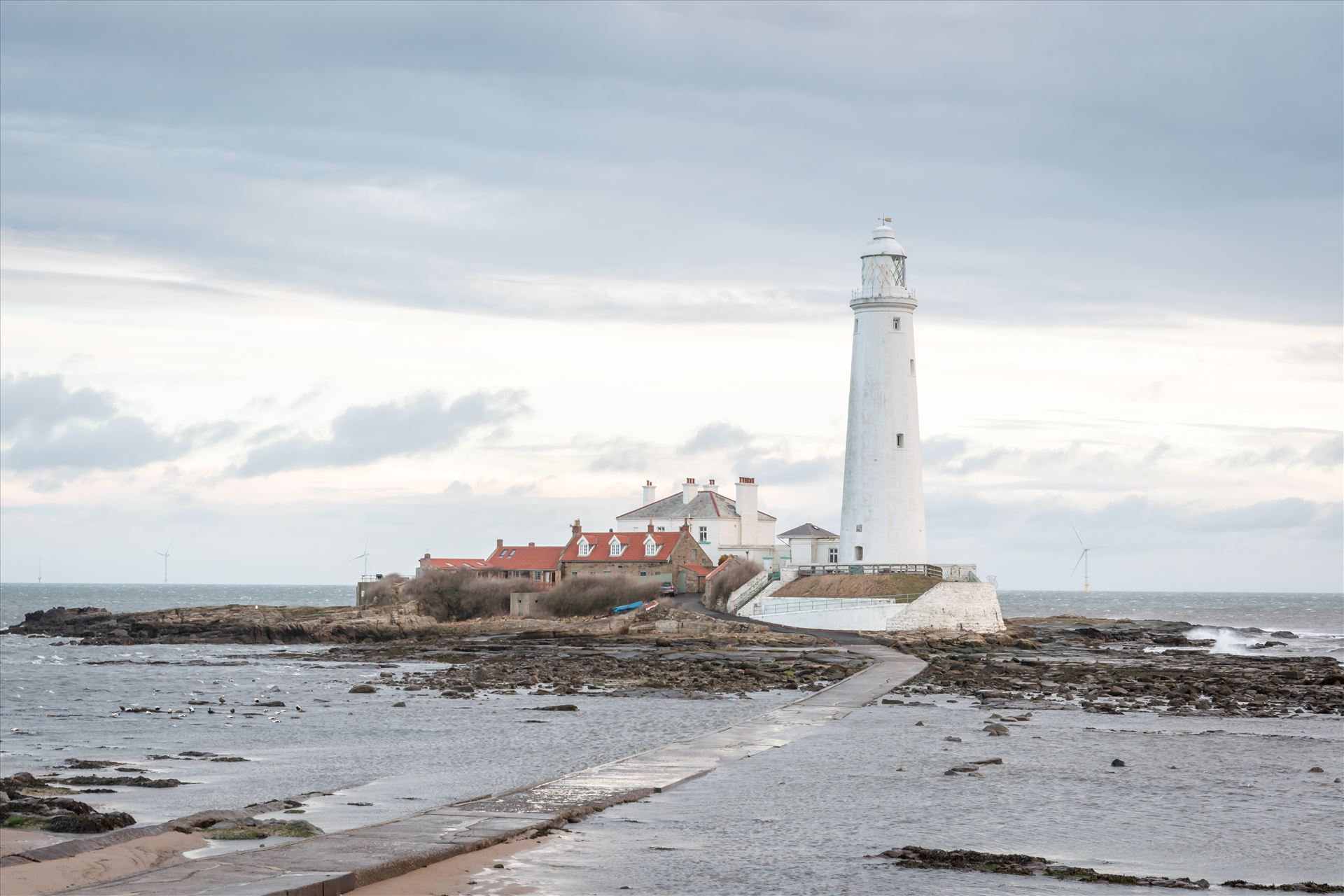 St Mary's Island, Whitley Bay, Northumberland  by Graham Dobson Photography