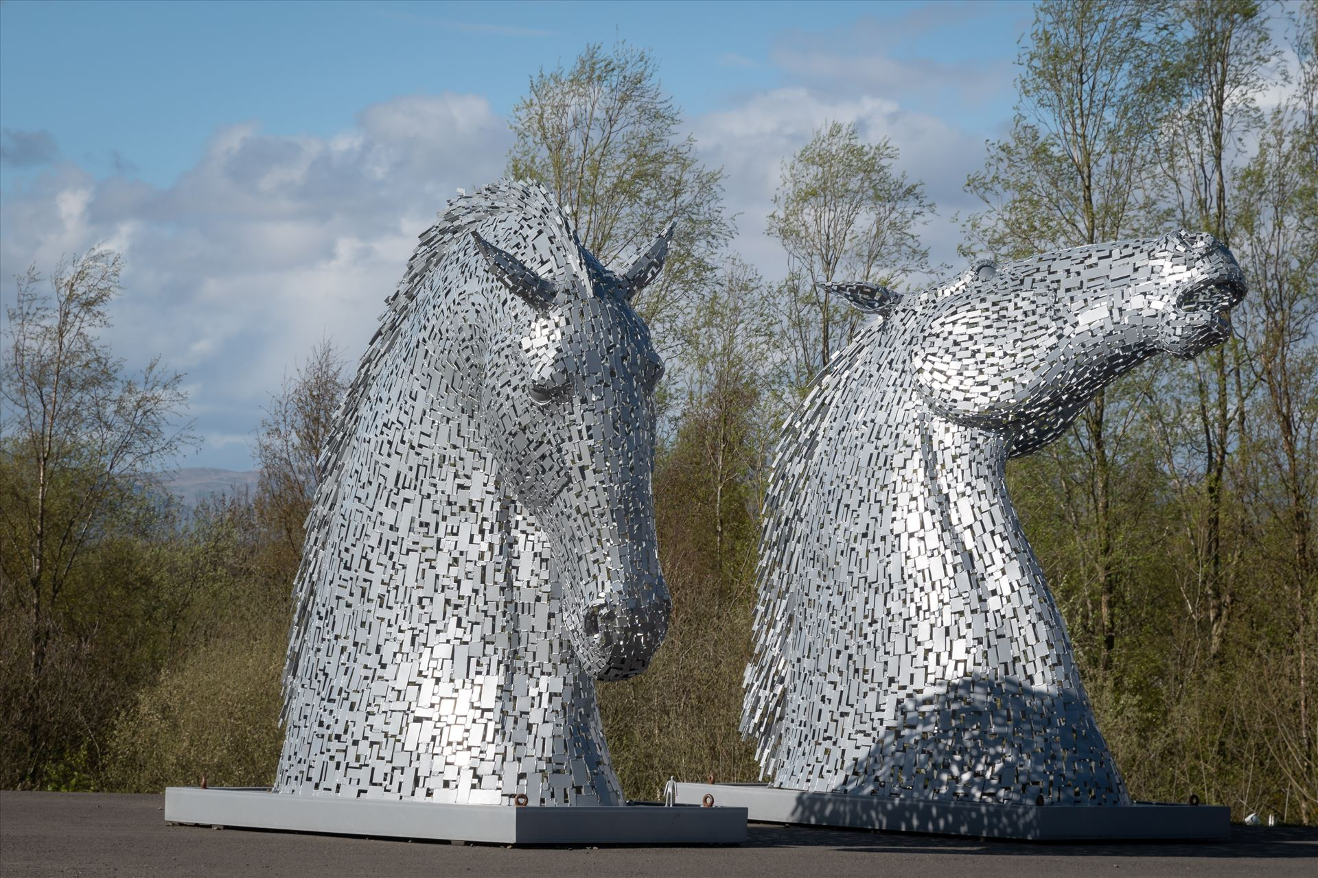 'The Kelpies' in miniature , Falkirk, Scotland  by Graham Dobson Photography