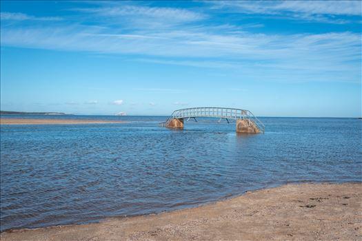 'Bridge to Nowhere', Dunbar, Scotland by Graham Dobson Photography
