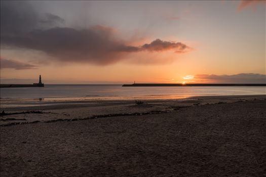 Sunrise at Roker, Sunderland by Graham Dobson Photography