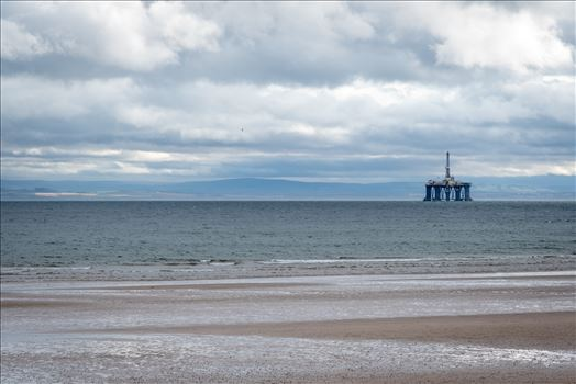 Oil Drilling rig, off Leven Bay, Scotland by Graham Dobson Photography