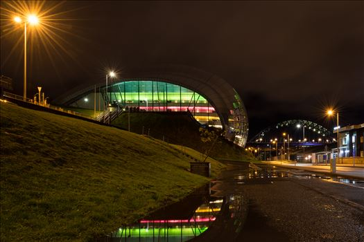 'On Reflection; at the Sage, Gateshead Quayside by Graham Dobson Photography