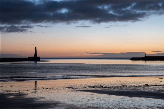 Roker at sunrise by Graham Dobson Photography