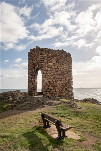 Lady Elie Tower, Elie, Scotland by Graham Dobson Photography