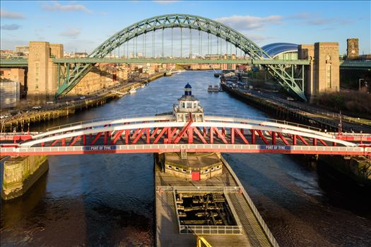 View from High Level Bridge, Newcastle by Graham Dobson Photography