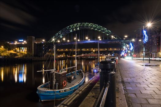 'Rachel Douglas' on the River Tyne by Graham Dobson Photography