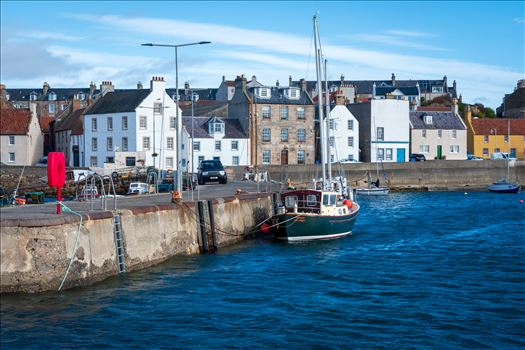 St Monan's Harbour, St Monan's, Fife, Scotland by Graham Dobson Photography
